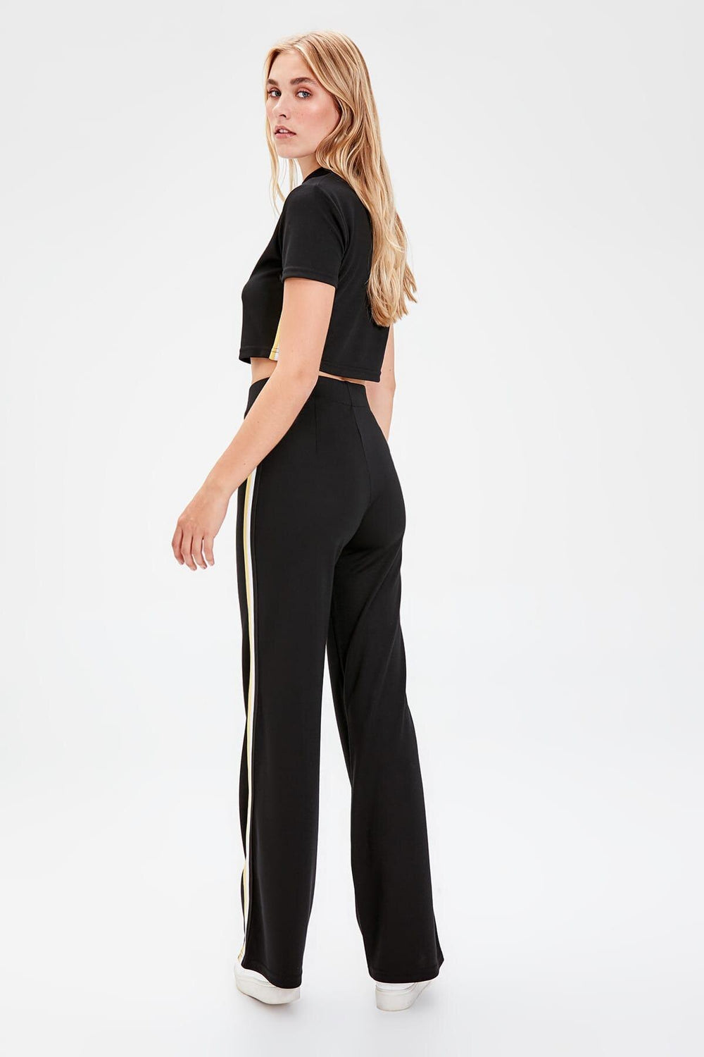 Miss Zut Miss Zut Black Knitted Pants Miss Zut &CO