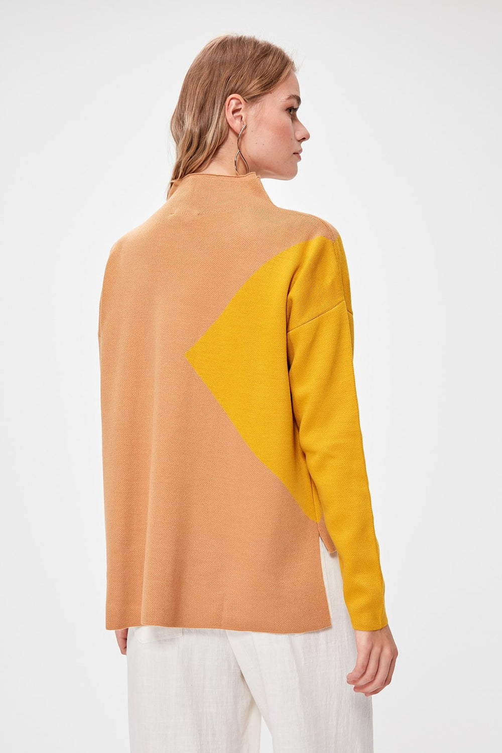 Miss Zut Miss Zut With Color Block Pullover Sweater Miss Zut &CO