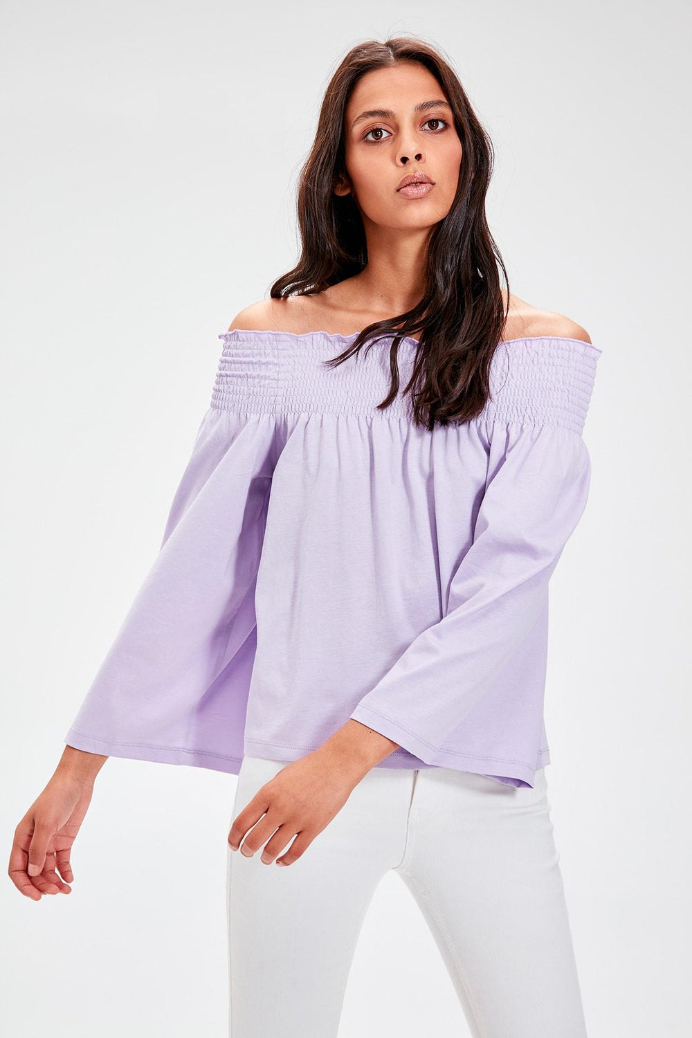 Miss Zut Miss Zut Lilac Gipeli Knitted Blouse Miss Zut &CO