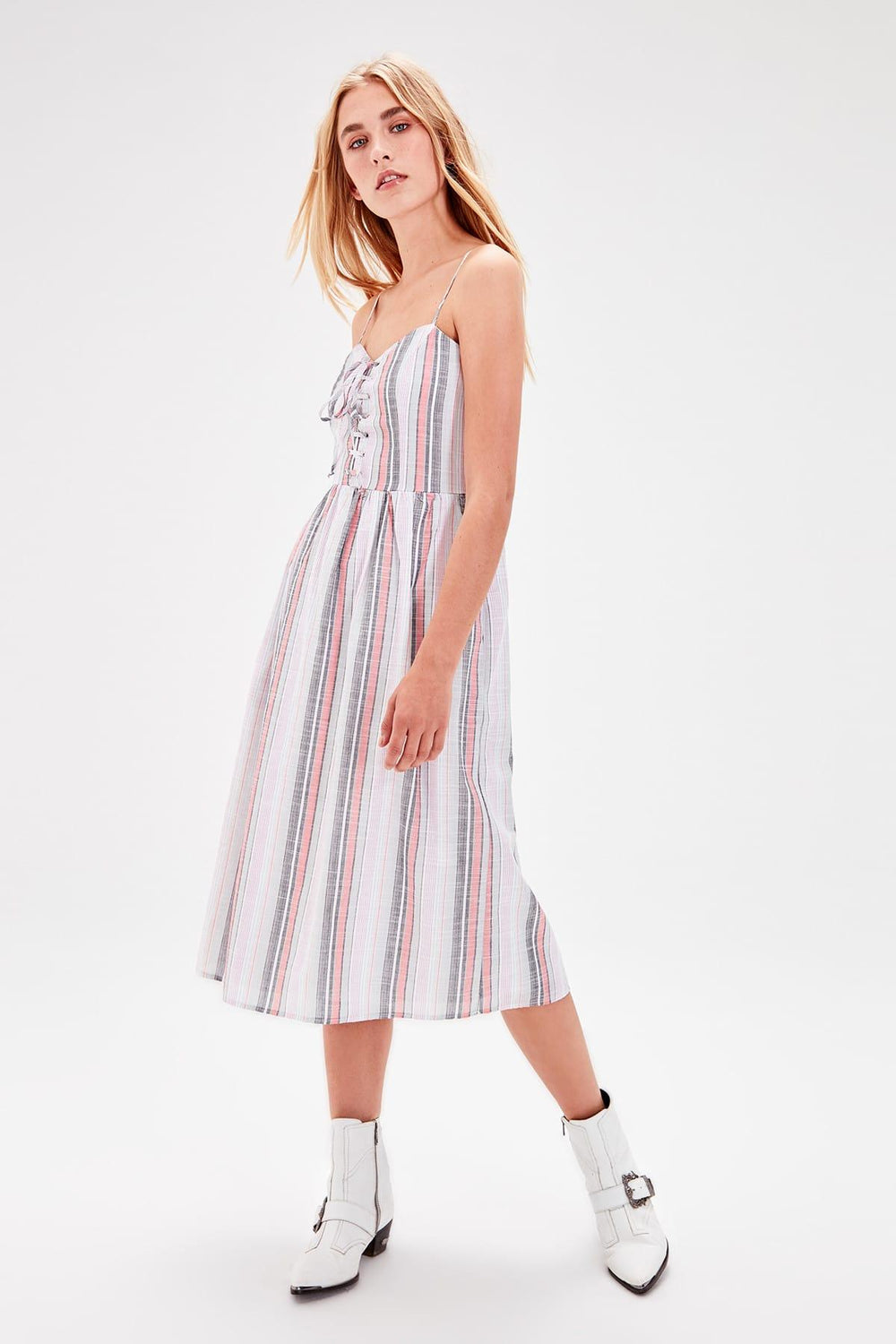 Miss Zut Miss Zut With Multi-Colored Strap Dress Miss Zut &CO