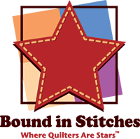 Bound in Stitches Logo