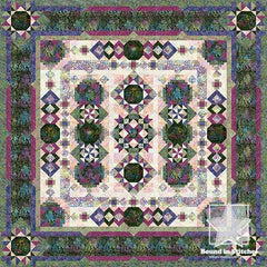 Blooming Fields Block of the Month Program by Wing and A Prayer Designs and Timeless Treasures Fabrics  |  Bound in Stitches