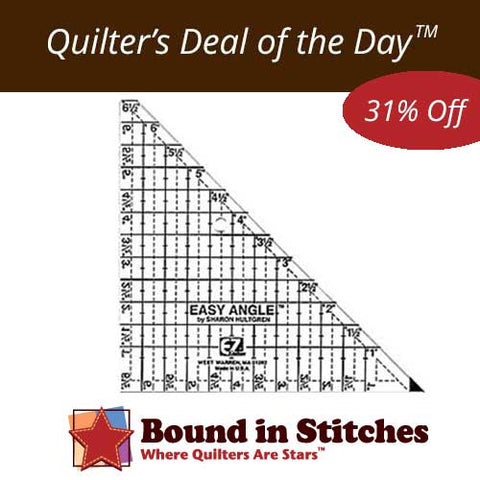 """Easy Angle 6-1/2"""" Ruler by Sharon Hultgren  