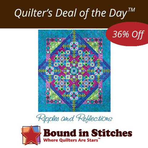 Ripples and Reflections by Laurie Shifrin  |  Bound in Stitches