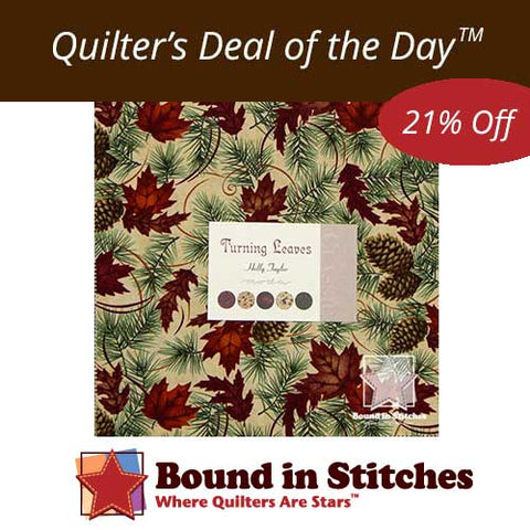 Turning Leaves Layer Cake by Holly Taylor for Moda Fabrics