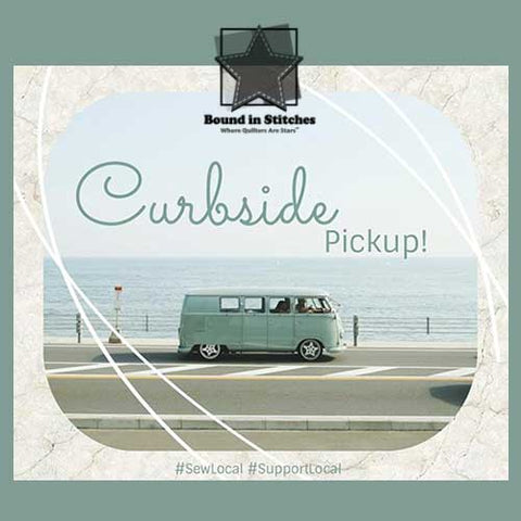 Curbside Pickup at Bound in Stitches
