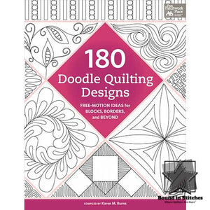 180 Doodle Quilting Designs by Karen Burns