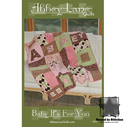 Baby It's For You - Girl by Abbey Lane Quilts