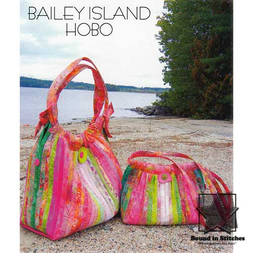 Bailey Island Hobo by Aunties Two  |  Bound in Stitches