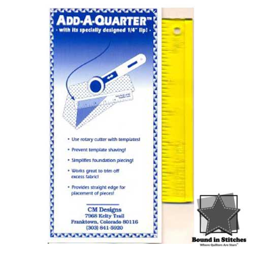 Add A-Quarter Ruler 1