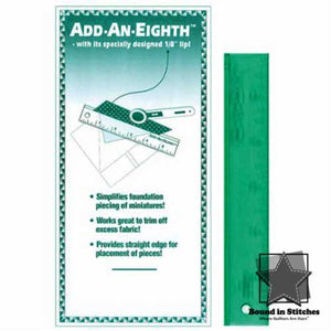 "Add An-Eighth Ruler 1"" x 6""  