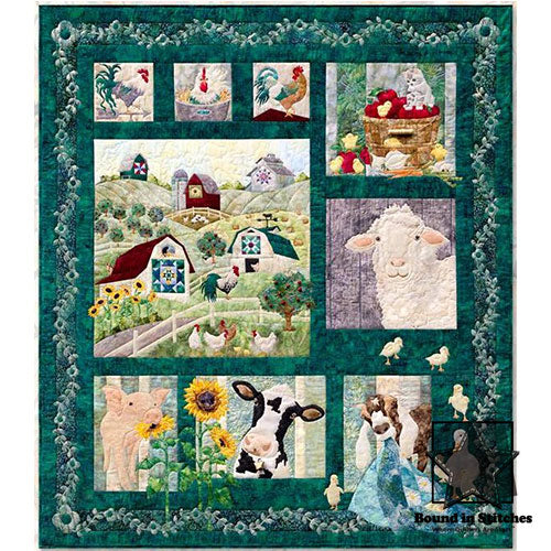 And On That Farm! Block of the Month | McKenna Ryan Designs