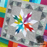 Aviatrix Medallion Detail of Quilt by Elizabeth Hartman  |  Bound in Stitches