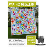 Aviatrix Medallion by Elizabeth Hartman  |  Bound in Stitches