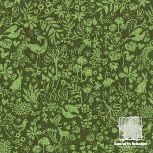 Moda Blitzen - Creatures Evergreen by Basic Grey