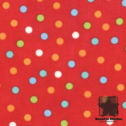 Moda Bungle Jungle - Red Dots by Tim & Beck