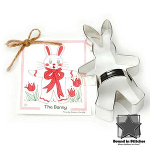The Bunny Cookie Cutter |  Bound in Stitches