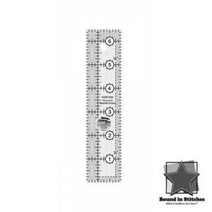 "Creative Grids Quilt Ruler 1-1/2"" x 6-1/2""  