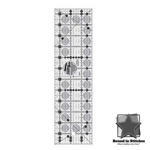 "Creative Grids Quick Trim Ruler 3-1/2"" X 12-1/2"" Rectangle  