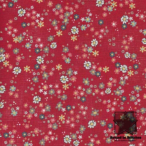Chamberry - Red Clusters 00389 by ADORNit  |  Bound in Stitches