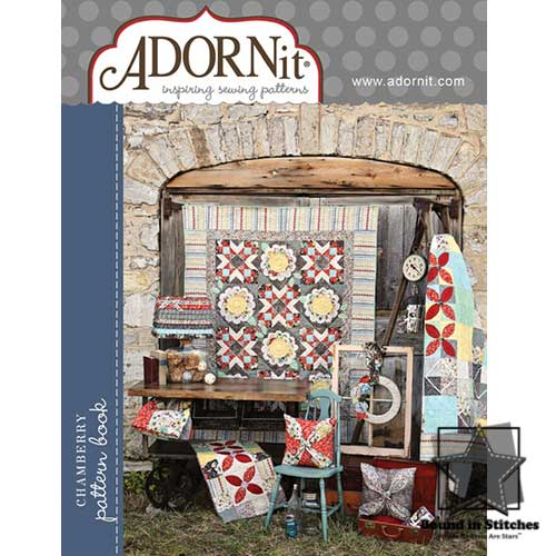 Chamberry pattern book by ADORNit  |  Bound in Stitches