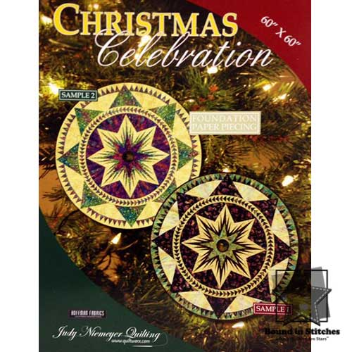 Christmas Celebration by Judy Niemeyer Quilting  |  Bound in Stitches