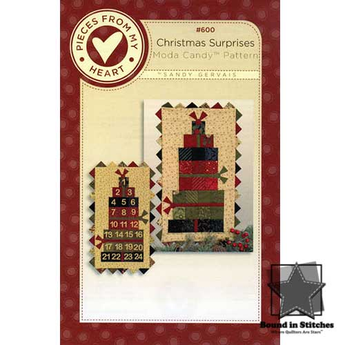 Christmas Surprises by Sandy Gervais  |  Bound in Stitches
