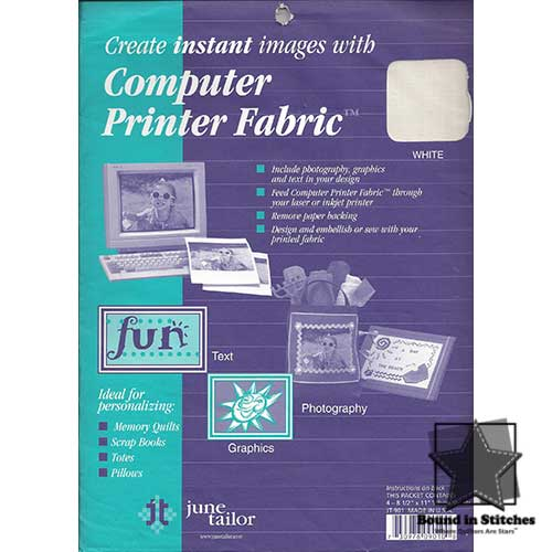 Computer Printer Fabric™ by June Taylor