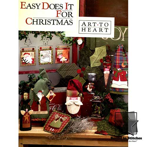 Easy Does It For Christmas by Art to Heart | Bound in Stitches