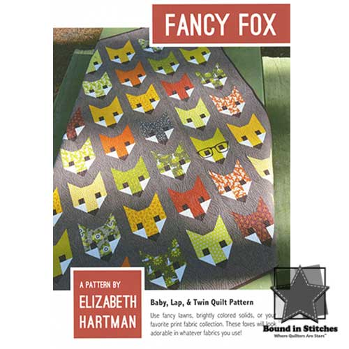 Fancy Fox by Elizabeth Hartman  |  Bound in Stitches