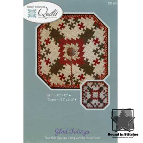 Glad Tidings by Bean Counter Quilts