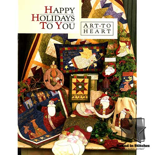Happy Holidays To You by Art To Heart | Bound in Stitches