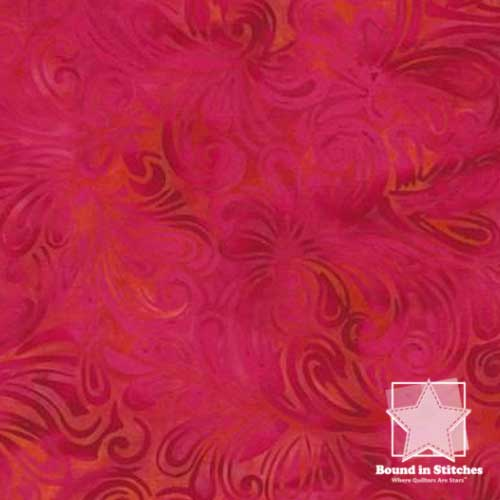 Island Batik KG09-B1 - Poppy  |  Bound in Stitches