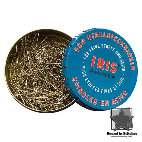 IRIS® Swiss Super Fine Pins  |  Bound in Stitches