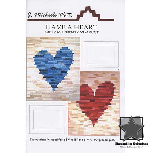 Have A Heart by J. Michelle Watts  |  Bound in Stitches