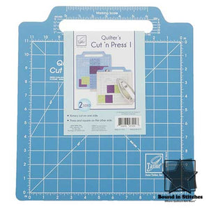 June Taylor Quilter's Cut 'n Press™ I - Rotary Cutting Side  |  Bound in Stitches