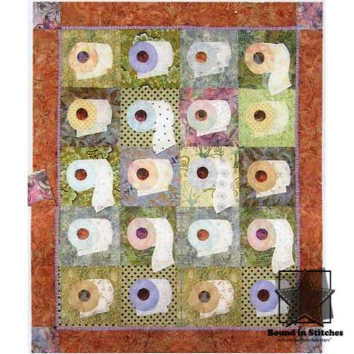 We're On A Bigger Roll by Java House Quilts  |  Bound in Stitches