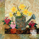 Daffodils by Edyta Sitar of Laundry Basket Quilts