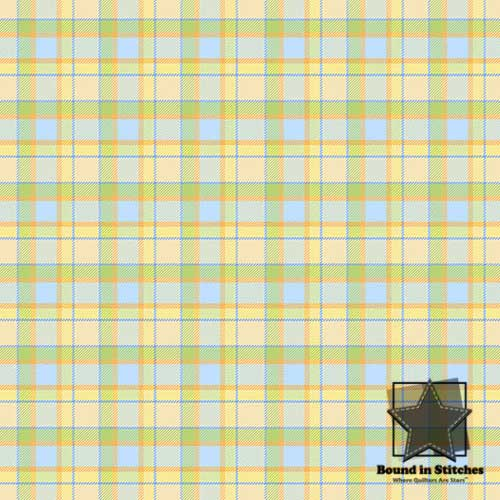 The Land Before Time Flannel 6328-11 Plaid by Shelly Comiskey  |  Bound in Stitches