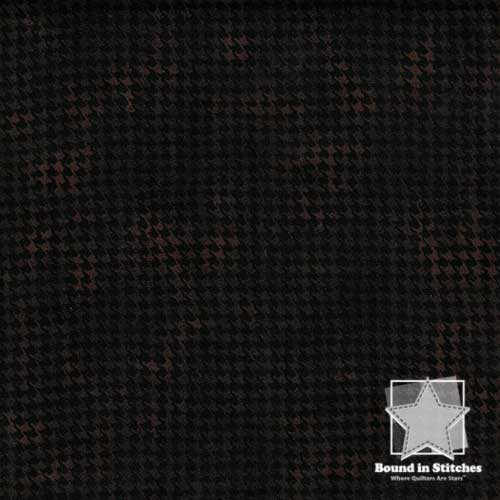 Woolies Flannel MASF1840-J Houndstooth Espresso by Maywood Studio