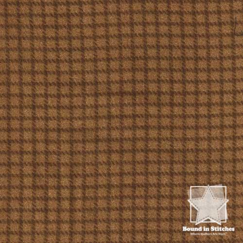 Woolies Flannel MASF18126-A Reverse Check Brown