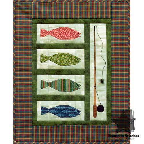 Gone Fishin' by Mary Herschleb  |  Bound in Stitches