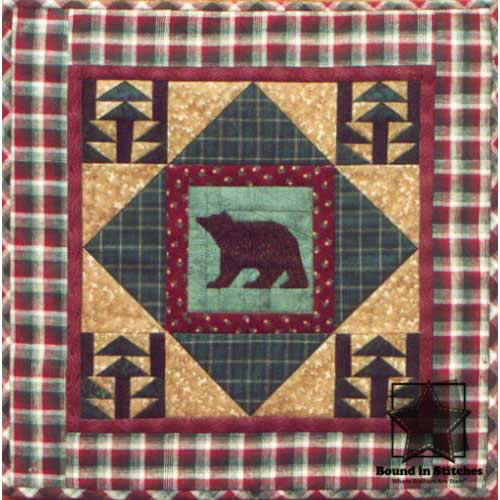 Bear Mountain by Mary Herschleb  |  Bound in Stitches