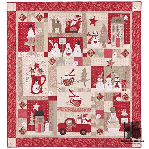 Merry Merry Snowmen Kit by Bunny Hill Designs