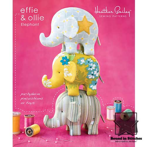 Effie & Ollie Elephant  |  Bound in Stitches
