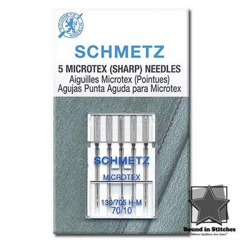 Microtex Needles Size 70/10 | Schmetz Needles
