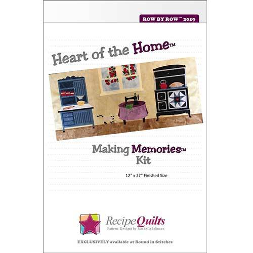 Heart of the Home - Making Memories Kit  |  Bound in Stitches