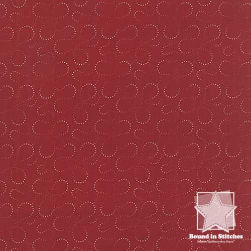 Moda Mille Couleurs 44087-13 Madder Red  |  Bound in Stitches