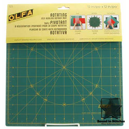 Olfa® Spinning Square Cutting Mat - 12