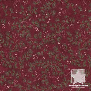 Moda Once Upon A Memory 6732-15 Crimson Branches  |  Bound in Stitches